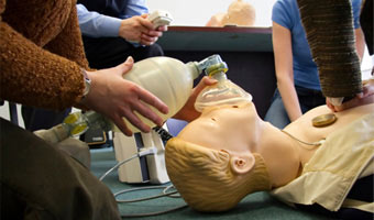 oxygen therapy first aid training